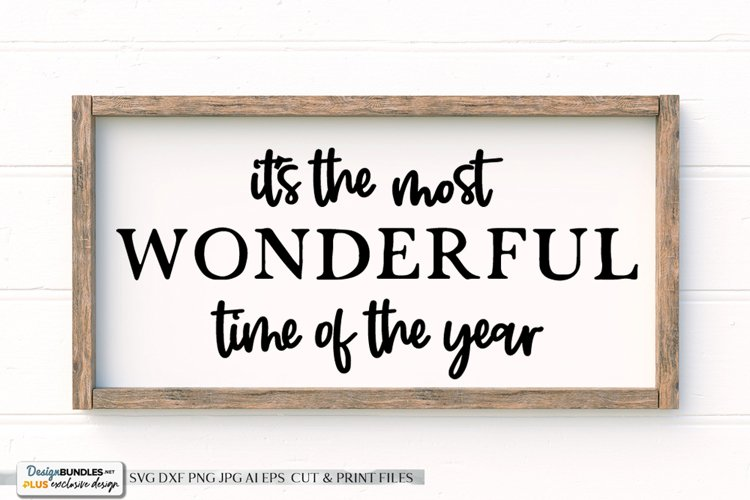 It's The Most Wonderful Time Of The Year - Christmas Design example image 1
