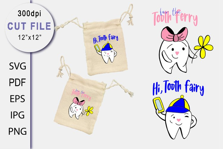 Teeth SVG Cut file. Baby Sublimation. Quotes for Tooth Fairy
