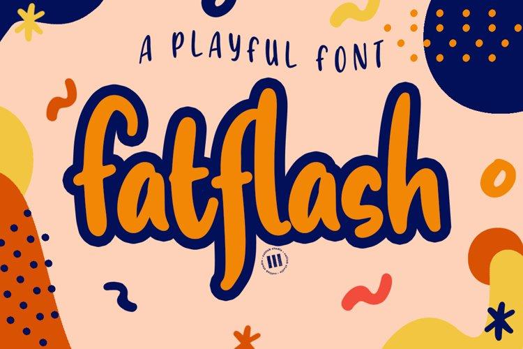 Fatflash - A Playful Font