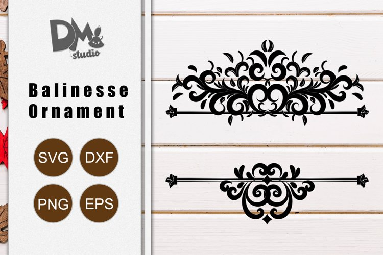 Balinesse Ornament Frame 2