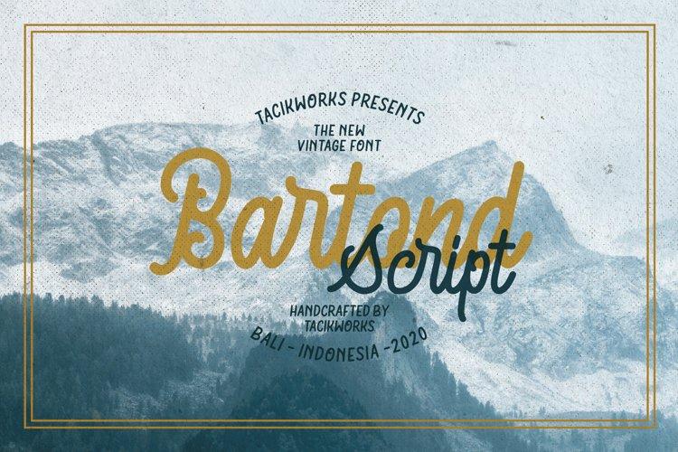 Bartond Script