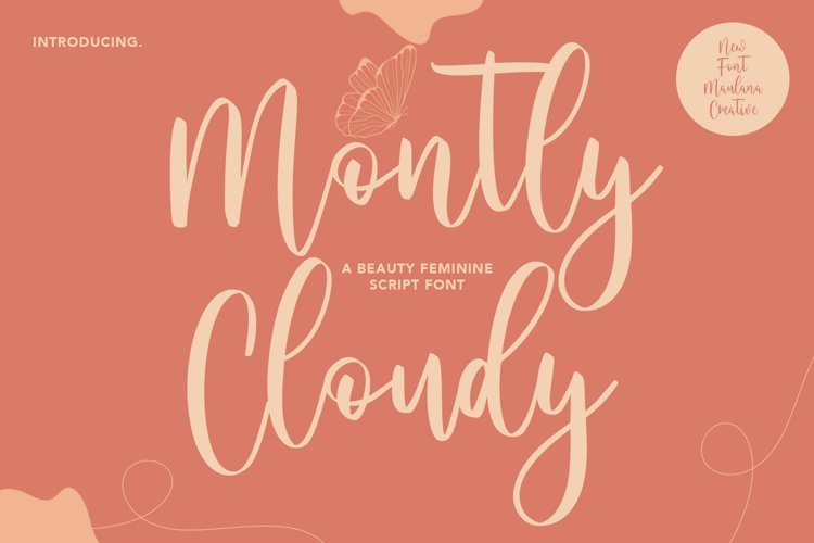 Montly Cloudy Beauty Script example image 1