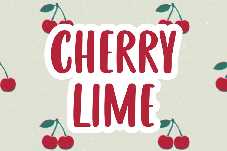 CHERRY LIME example image 1