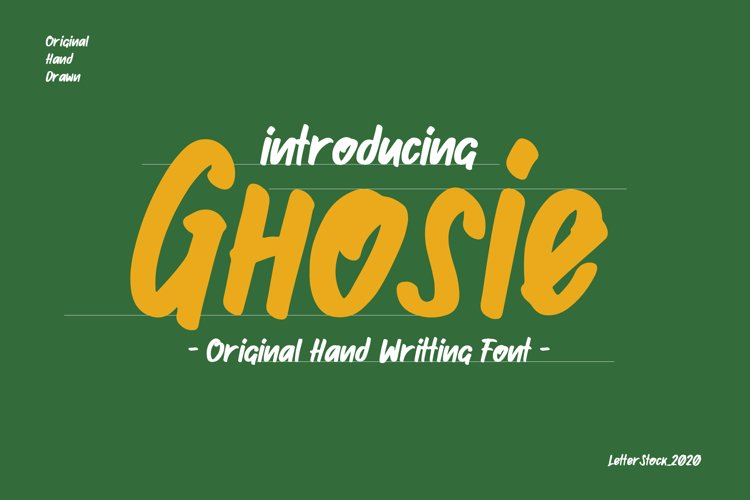 Ghosie example image 1