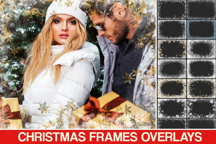 Download photo overlays, textures photoshop Snowflake example image 1