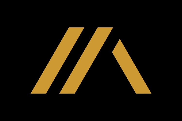 initial MA/AM luxury monogram logo template example image 1