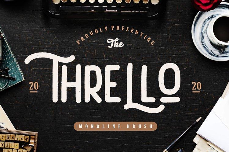 Thrello Monoline Brush example image 1