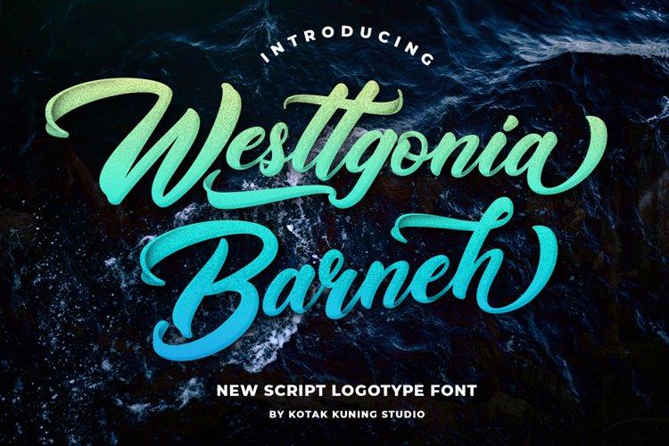 Casual Script - Westtgonia Barneh example image 1