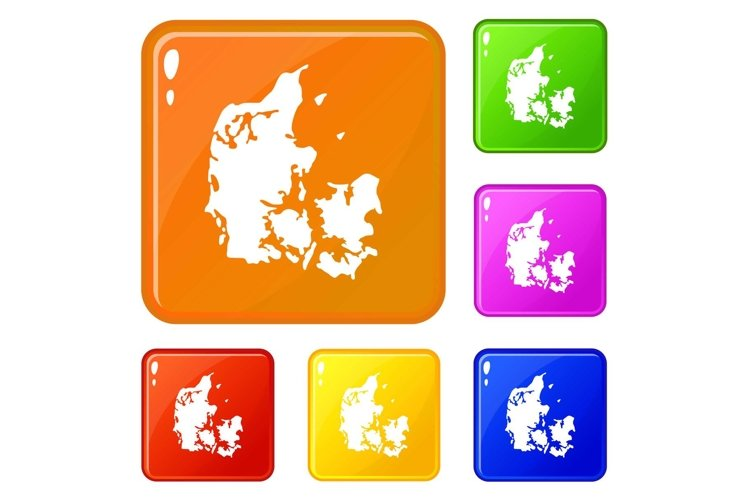 Holland icons set vector color example image 1