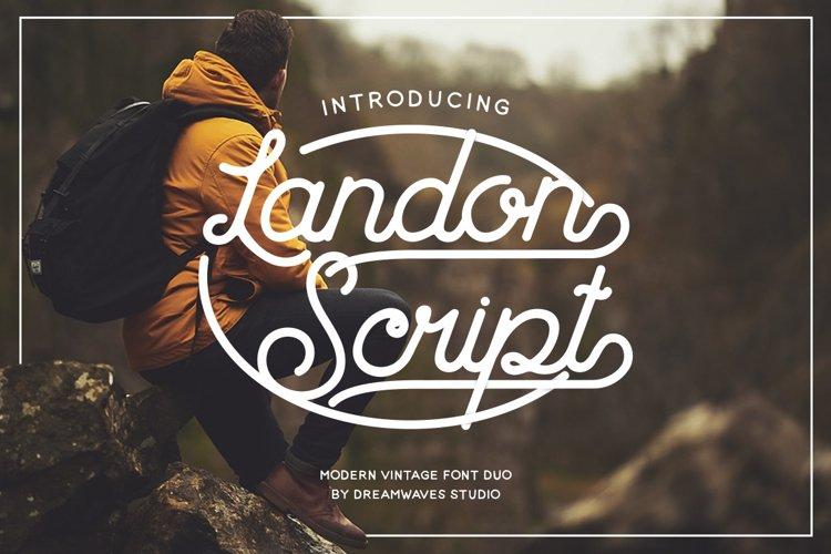 Landon Script