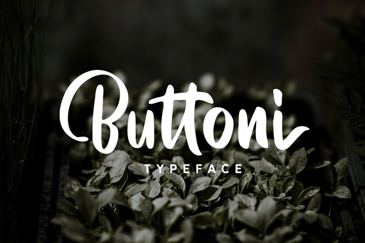 Buttoni Typeface example image 1