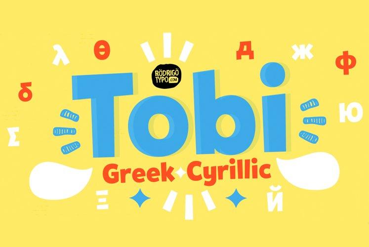 Tobi Greek Cyrillic example image 1