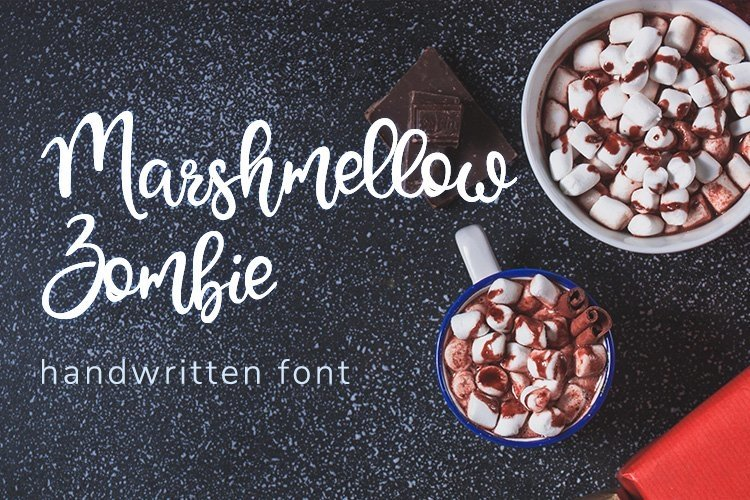 Web Font Marshmellow Zombie example image 1