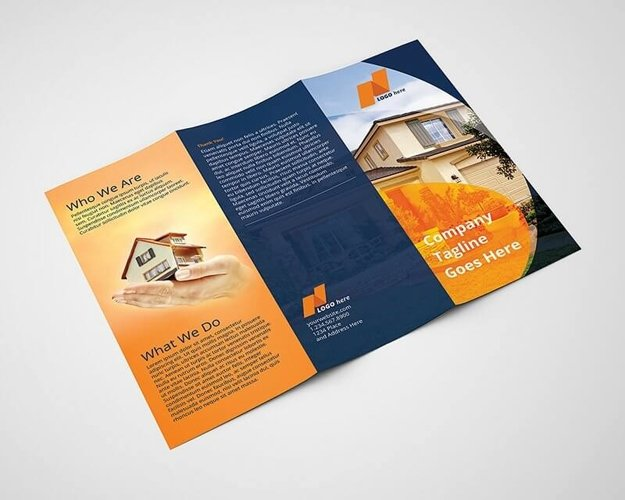 Real Estate Tri-Fold Brochure Template example image 1