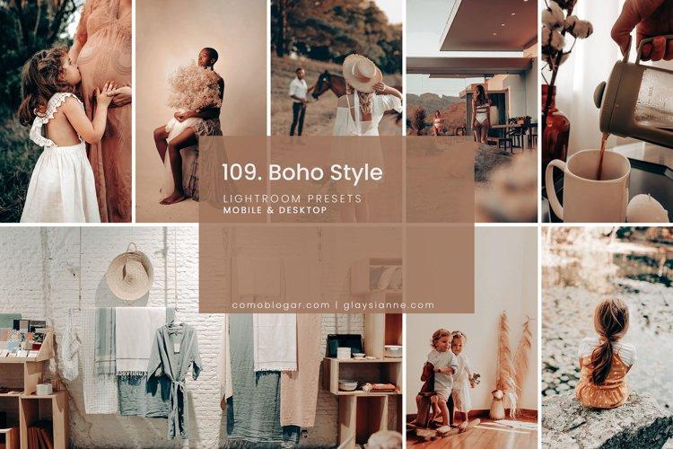 109. Boho Style Presets