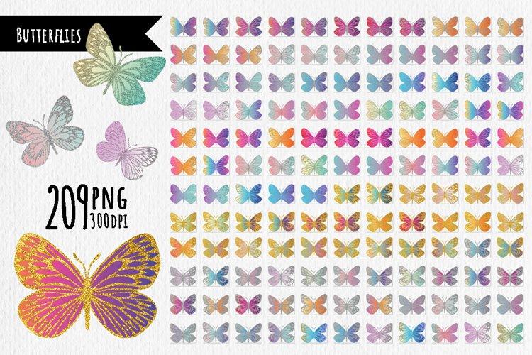 209 Bright modern butterflies