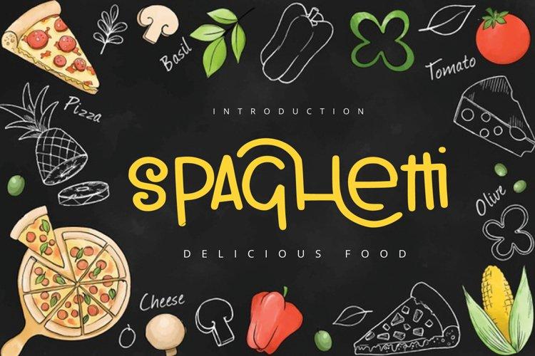 spaghetti food example image 1