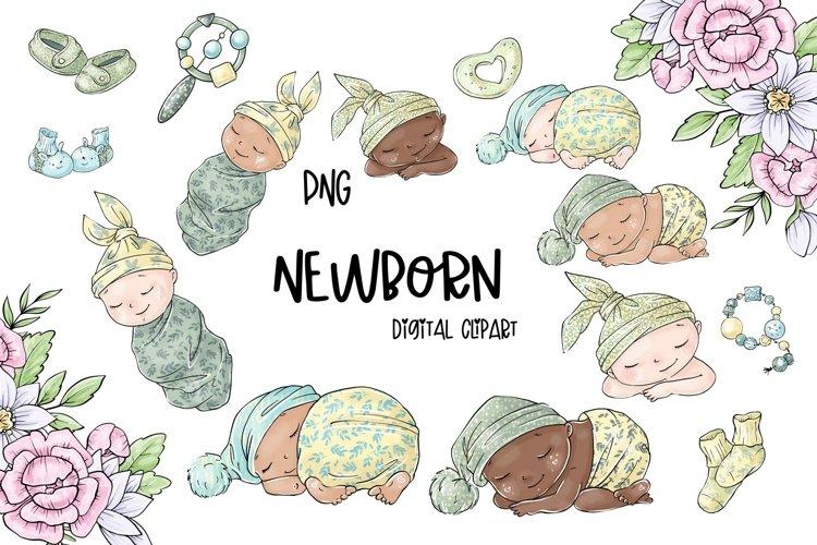 Newborn clipart