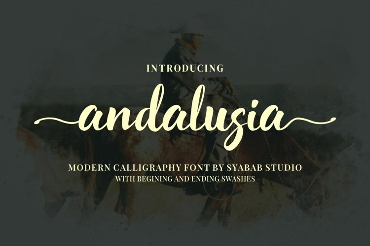 Andalusia // Chic Calligraphy.