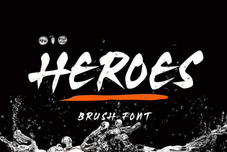 Heroes Brush example image 1