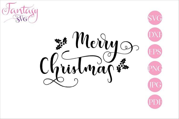 Merry Christmas - SVG Cut Files