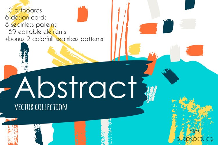 Abstract vector collection example image 1