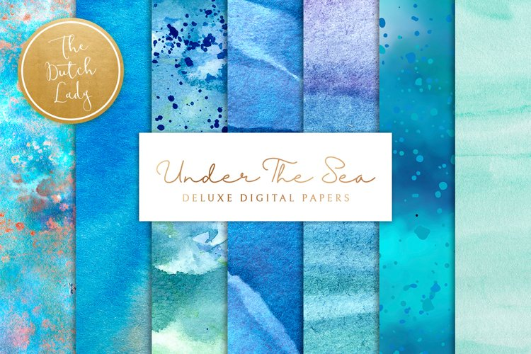Digital Backgrounds & Papers - Under The Sea