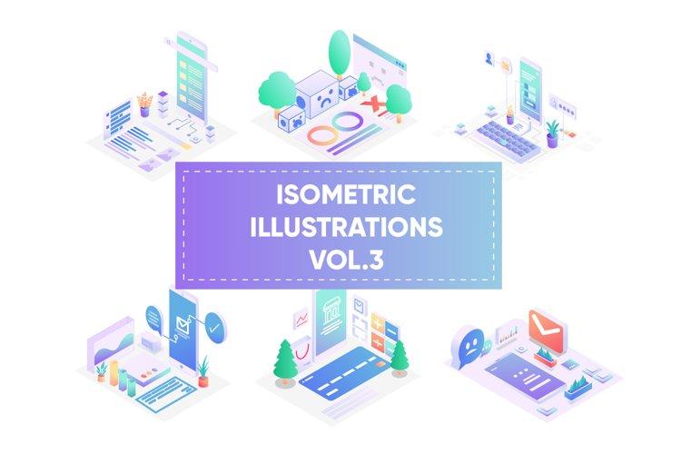 Isometric illustrations for web vol 3