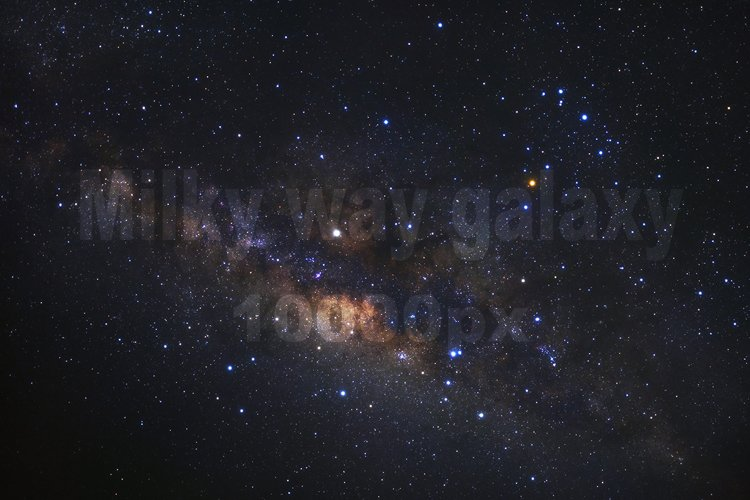 Milky way galaxy ,High Resolution 10000px