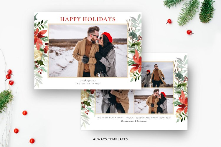 Christmas Card Template CC085 example image 1