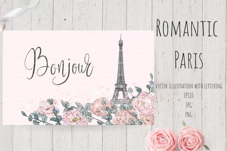 Romantic Paris Card#8 example image 1