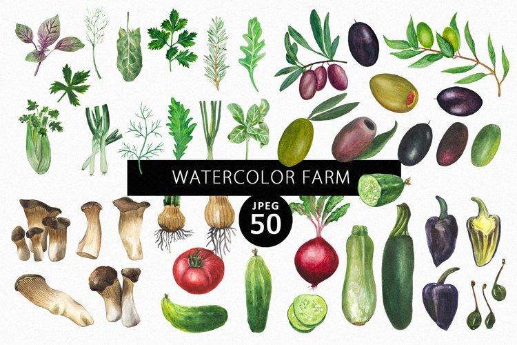 Watercolor Farm example image 1