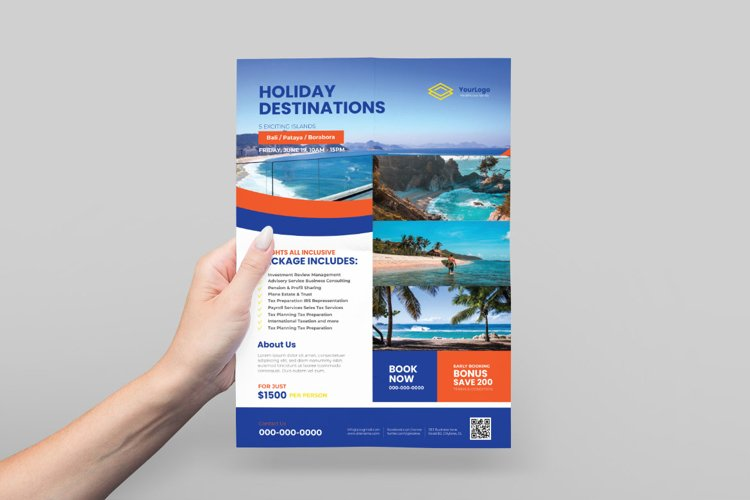 Travel Flyer Design example image 1