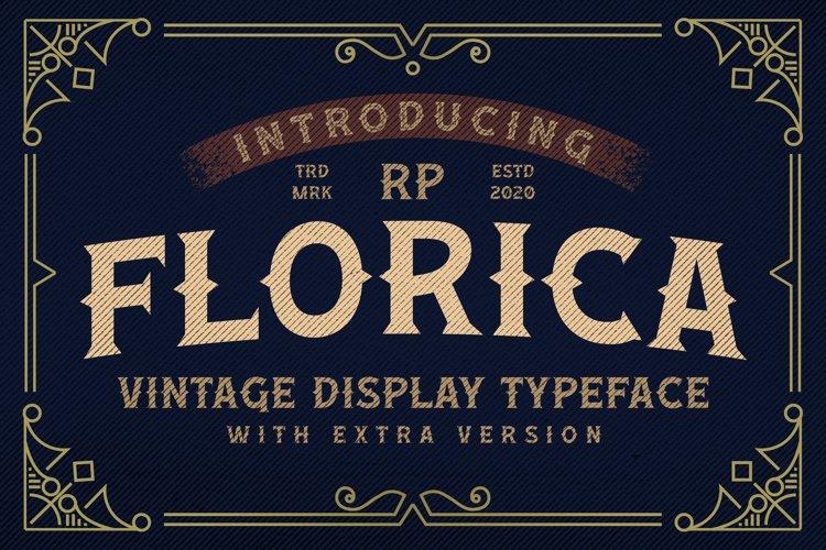 Florica - Vintage Display Font example image 1
