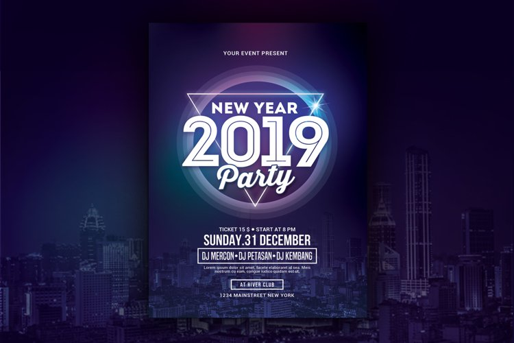 New Year Party 2019 example image 1