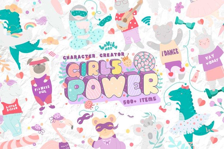 Character creator - Girls power example image 1