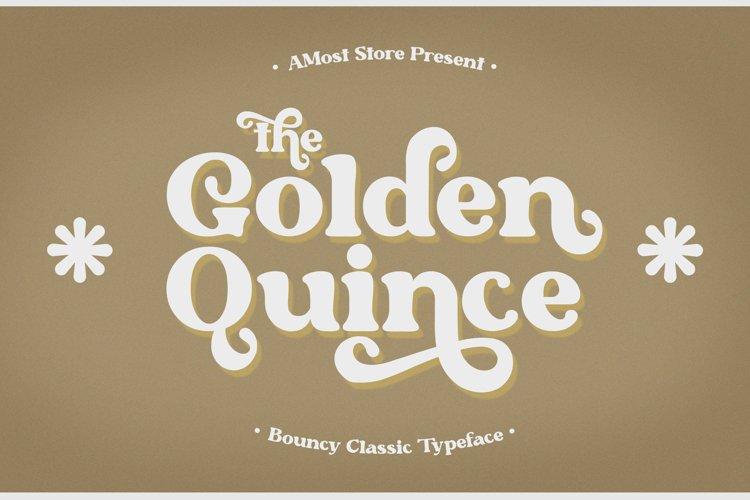 Golden Quince - Classic Display