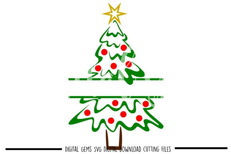Christmas tree SVG / PNG / EPS / DXF files example image 1