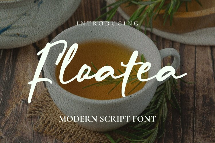 Web Font Floatea Font example image 1