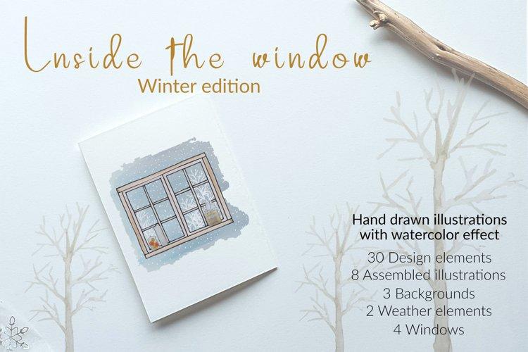 Inside the window - winter edition