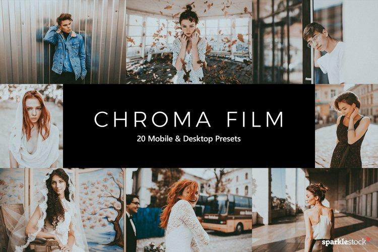 20 Chroma Film Lightroom Presets & LUTs example image 1