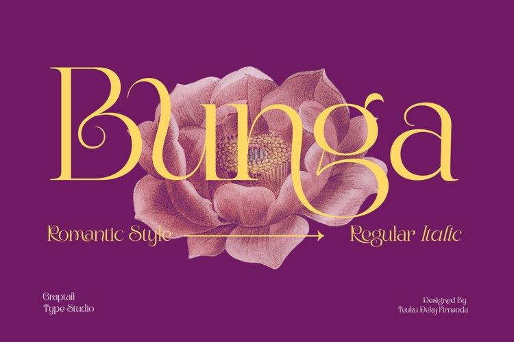 Bunga| Romantic Style example image 1
