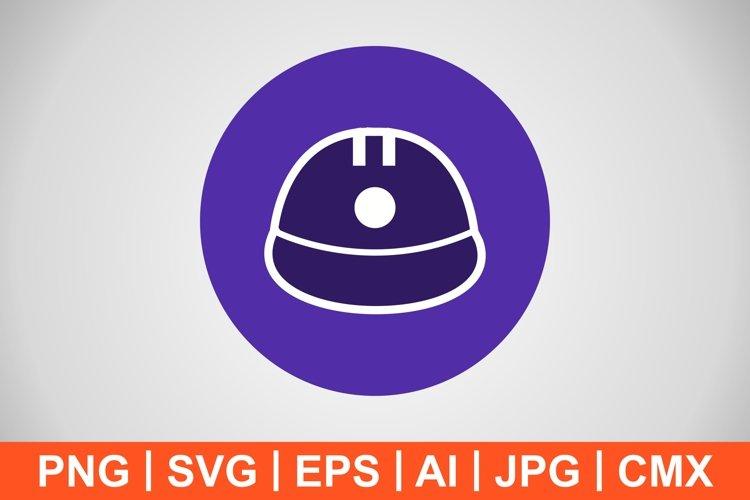 Vector Helmet Icon example image 1