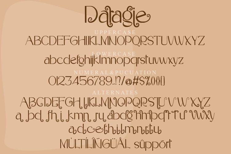 Daragie example 6