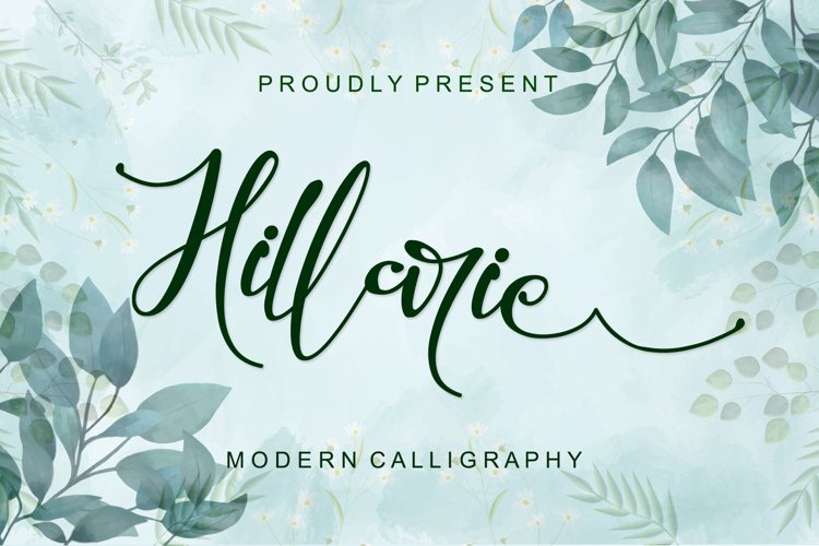 Hillarie - Modern Calligraphy example image 1