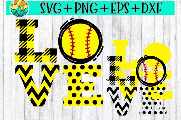 Download Love Baseball Softball Svg Dxf Eps Png 237689 Svgs Design Bundles