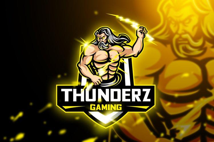 Thunderz Gaming - Mascot & Esport Logo
