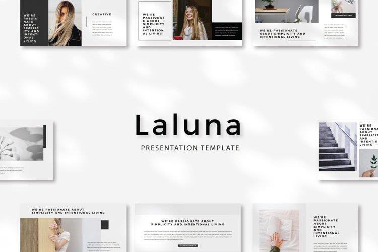 Laluna Google Slides example image 1