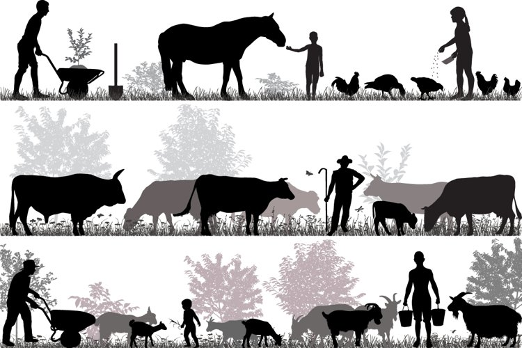 Family of farmers example image 1