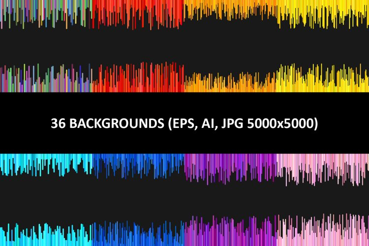 36 Abstract Backgrounds AI, EPS, JPG 5000x5000 example image 1